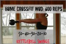 At Home CrossFit Workouts / You don't need to be in a gym to get a good workout!