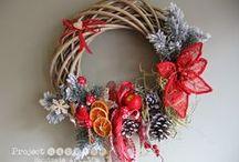 Christmas decorations by ProjectGallias / Christmas decorations etc. See more at http://projectgallias.blogspot.com