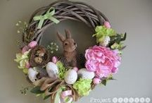 Easter decorations by ProjectGallias / Easter and spring decorations http://projectgallias.blogspot.com #ProjectGallias