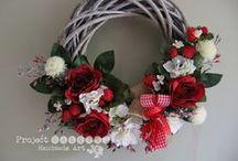 Handmade wreaths by ProjectGallias