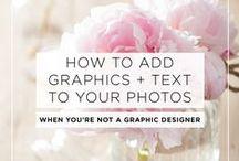 Wedding SMM Inspiration / Branding inspiration and social media graphics for wedding biz.