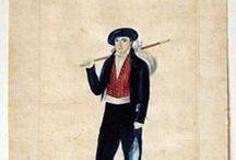 Le costume Basque au XIXe
