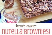 Brownie & Blondie Recipes / Gooey double triple and quadruple chocolate brownies, or loaded vanilla white chocolate blondies? You don't have to choose, this board has everything, including my popular Aero Mint Chocolate Brownies and Birthday Cake Blondies! Because no love is greater than the love of chocolate.