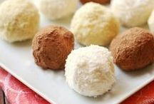 Truffles & Bites Recipes / From classic easy chocolate truffles to energy bites and healthy snacks. Including my Healthy Cookie Dough Bites and Cinnamon Breakfast Bites. Chocolate or otherwise, no one can resist!