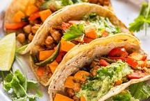 Mexican Foods / Sweet, sour, hot and spicy. This board is a collection of all my favourite Mexican and South American Recipes! Tacos, burritos, stews, sandwiches, and more, yum!