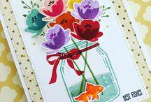 Cards - Stampin up Jar of Love