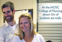 Nurses Change Lives  / At MUSC, we have the only accelerated BSN degree nursing program in South Carolina, and thriving enrollment in our DNP, PhD and MSN programs of study. / by MUSC CON