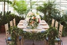 wedding inspiration / decorations, centrepieces, flowers, venues