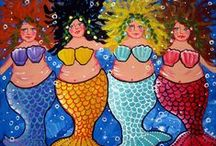 Mermaids and all things ocean / Mermaids and everything to do with the beautiful ocean / by Nancy O'Donnell