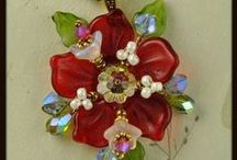 beautiful beadwork & Button jewellery / by Diann Kaye Ellis