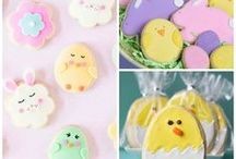 Easter treats & activities! / Decorating Easter eggs, Easter dinner, fun Easter treats & activities
