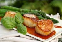 Recipes - Seafood / Clams, crab, fish, lobster, scallops, shrimp, and  other seafood recipes / by Kelly Stilwell