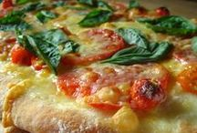 Recipes - Pizza / Homemade pizza sauce, easy pizza crust recipes, and delicious pizza topping combinations! / by Kelly Stilwell