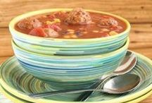 Recipes - Soup / All your favorite soup recipes like tortellini soup, lasagna soup, meatball soup, vegetable soup, chicken noodle soup, and more! / by Kelly Stilwell