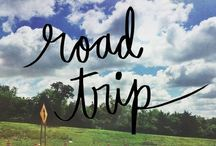 Road Trip USA! / Song of the Road Afoot and light hearted, I take to the open road, Healthy, free, the world before me, The long brown path before me, leading wherever I choose. ~ Walt Whitman / by Donna Koontz