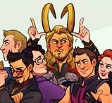 avengers fan art / MARVEL... YAY!!!