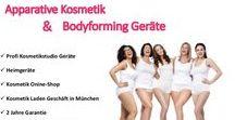 Bodyforming / Apparative Kosmetik & Bodyforming Geräte für den Privatbedarf sowie für Kosmetikstudios, Spas, etc.