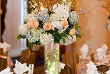 Wedding Centerpieces / flowers for centerpieces