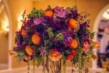 Magnificent Centerpieces / MANY different flowers can be used to attain this glorious look!  Come meet with our experts.