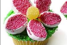 cupcake / ponques de moda para fiestas