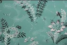 vintage wallpaper / Gorgeous designs from yesteryear.