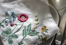 Embroidery / Embroidery ideas