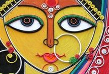 Art and Design / As exotic as it is beautiful, Indian art and design is a renowned for it's use of free expression, vibrant colours, and strong sense of design, in both traditional and modern forms.