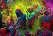 Enlightened / The unparalleled vibrancy of colours is a hallmark of Indian culture and they enrich and enlighten with their beauty.