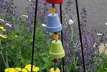 Jardin / Quand Le Stitch ne brode pas, elle jardine aussi !