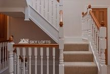 Loft Conversion | Staircases / A great selection of staircases to inspire you for your loft conversion