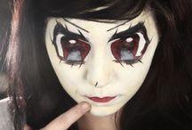 Manga / Maquillages Manga créés par les étudiants d'ITM Paris