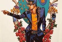 jojo-ジョジョの奇妙な冒険-Hirohiko Araki