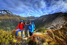 Great Walks - New Zealand / New Zealand's nine Great Walks are premier tracks that pass through diverse and spectacular scenery. From native forests, lakes and rivers to rugged mountain peaks, deep gorges and vast valleys...there's a Great Walk for everyone!