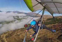 New Zealand Adventure Activities / Collection of adventure activities around New Zealand