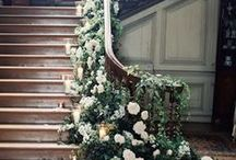 FLOWERS FOR THE ENTRANCE / DECORATE THE ENTRANCE TO THE CHURCH- HOME OR VENUE WITH BEAUTIFUL FLOWERS THAT REFLECT THE WEDDING THEME.