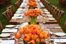 FLOWERS FOR THE TABLES