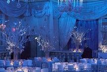 BLUE WEDDING COLORS / Paige Brown Designs, wedding planning and event design, Blue wedding reception colors, elegant wedding and reception ideas, upscale wedding planner, Paige Brown Designs. #Nashville #Wedding #Planner. To see more, please visit: www.paigebrowndesigns.com