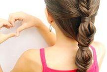 Faça voçe mesmo na sua Filha / Adoro penteados !Na minha filha faço esses e outros mais ! #AmoPenteadosNaFilha
