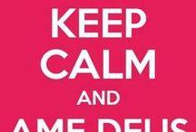 Keep Calm / Fique Calmo... e... sobre tudo...