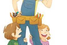 Ilustrações /  de tudo ,Crianças, Mães,  Pais e coisas fofas...
