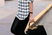 Moda em Preto e Branco / #Black and White!