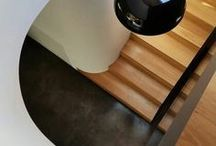 Black in Architecture + Design / Interiors, exteriors, textures and features using black.
