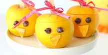Vegan Easter Inspiration /  Vegan recipes and craft ideas for Easter.