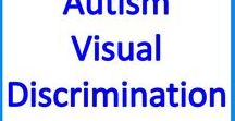 Autism Visual Thinking & Discrimination activities and resources / Visual Thinking, Discrimination and Perception Skills resources and activities for students with autism and special educational needs.