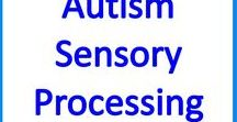 Autism Sensory Processing at school and home / Sensory Processing activities & ideas for kids, teens & young adults with #autism, to reduce #sensory overload and meet sensory needs.