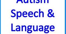 Autism Speech and Language Therapy activities for kids & teens / Speech and Language activities, resources and ideas for teachers , SLPs and therapists of kids & teens with autism