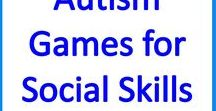 Autism Turn Taking Games for Social Skills & Speech / Fun turn taking games for kids with autism and special needs to promote speech, language, sharing and social skills.
