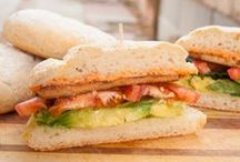 Vegan Sandwiches, Flatbreads, Rolls and Wraps / Vegan sandwiches can be found in many forms, and they all can be found here!