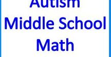 Autism Middle School Math Resources & Activities / Middle School Math activities, resources and ideas for students with autism and special needs.