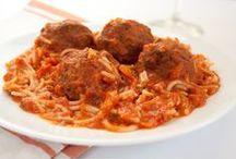 Vegan Pasta and Veggie Noodles / Vegan pasta and veggie noodle dishes.